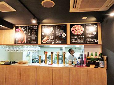 【店舗STAFF】゜*。2018夏、先斗町にオープンしました!。*°日本食を丸ごと体感できるビアレストラン★≪週1日&3h~≫で働きやすさ抜群◎