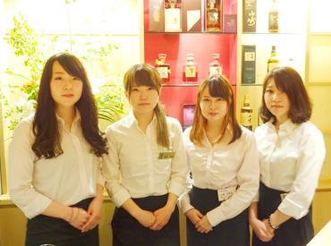 【BARコンシェルジュ】*☆━0時以降は無料で送迎━☆*仙台駅前のオシャレなBAR♪シフト自由でプライベートも両立◎20代女性スタッフ活躍中♪♪