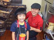 町屋店では、3~12歳のお子様向けに、マクドナルドならではのお仕事体験ができる「マックアドベンチャー」を実施中★