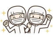 \冷暖房完備の工場で勤務/ 未経験&ブランクある方も大歓迎♪ シンプル作業なのですぐに覚えることができますよ!
