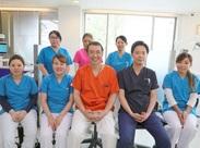 優しい院長のもと、学生さん、主婦(夫)さんを中心に、毎日元気に診療中です♪