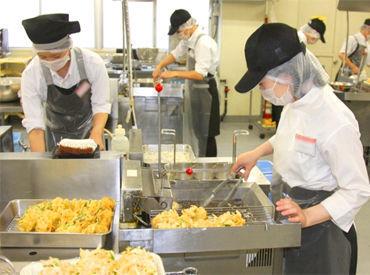 ★≪東急ストア≫のプロセスセンター★ お店に並ぶお惣菜づくりをお任せ! 必要なことは全部ひとつずつ教えます♪
