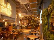 <昨年OPEN!>100年後に向け、食の新しい体験を追求するカフェ〝LAND Seafood〟ワクワクするような毎日が待っています!
