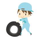 倉庫からタイヤを車に積み込み 店舗へ運搬するお仕事★ 難しい作業はほとんどありません! 未経験でも問題なくスタートできます!