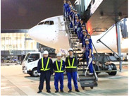 ★とにかくレア★快適な旅をサポート♪飛行機内の清掃バイト♪*普段乗ることのできない飛行機に入るチャンス☆