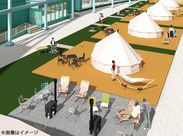 キャンプに快適さをプラスした新施設、『グランピング』!最近話題の人気レジャースポットです♪