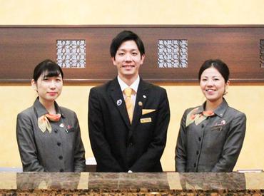 【フロントスタッフ】≪選べる勤務時間帯!≫勤務時間・お休み希望の相談OK!未経験者さんも◎ホテルのお仕事に興味のある方大歓迎です♪