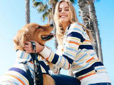 カタいマニュアルはありません◎お客さんと、愛犬のお話をするのが楽しい♪制服はかわいい自社商品を無料で♪