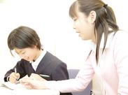 生徒さんとじっくり向き合えるのも<エルヴェ>ならでは♪距離が近く&担当制なので、スグに打ち解けるので教えやすいと評判!