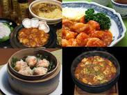 麻婆豆腐や焼売、エビチリetc...「おいしい!!」と常連さんに愛され続けるメニューも、まかないで★毎回バイトが楽しみに♪