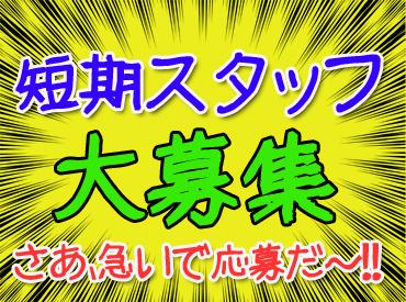 \年末年始までの短期!/ ガッツリ稼ぐなら今がチャンス★ 月収23万円以上も!