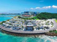 今話題のスポット「瀬長島」で働こう♪STAFFさんは、瀬長島温泉に無料で入浴できます(^_^)/疲れも癒やされるお仕事です。