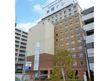 ≪広島駅から徒歩圏内の東横イン≫ 交通費も支給されるので通いやすい◎ 仕事終わりのお買い物にも便利がいい場所です☆