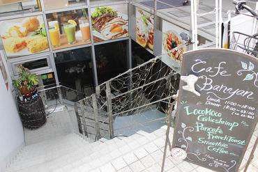 【Cafeスタッフ】表参道もスグ!日本一トレンドに近い立地◎+まるでハワイに来たかのような癒し空間で♪パンケーキも人気です★★☆