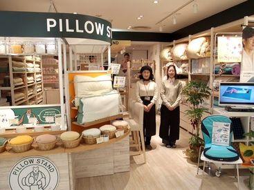 百貨店内の綺麗な店舗♪ 主婦活躍中の職場です!