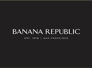 1978年にアメリカで誕生した 「Banana Republic」 「Gap」などを展開する Gapグループの一つです!