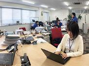 <株式会社トヨコン 安城営業所> 昨年移転したばかりなので、 オフィス内はとってもキレイ♪。*