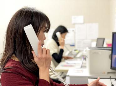 【コールセンターSTAFF】\お電話&内容をパソコンへ入力するお仕事!/◆オシャレ自由&安心して働ける職場♪◆年齢・性別・趣味などは問いません◎