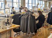 <未経験&ミシン初心者OK> 基本から丁寧にお教えしますので、安心してください。洋服が好き、手芸・裁縫が好きな方なら大歓迎!