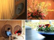 緑豊かな久住高原を臨む、洗練された雰囲気で人気のホテル★ キレイな環境を心がけて、お客様をおもてなししましょう♪