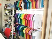 オリジナルTシャツなどの製作をイチから作成する当社☆あの有名フェスのグッズも作成できちゃうかも!?