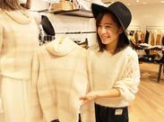 ◆髪/服/ネイル/ピアス自由◆ 「全身ブランドの服でコーディネイトしなきゃ…」 そんな必要はなし◎いつもの私服で勤務OKです★