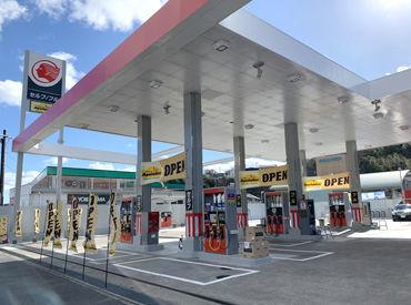 セルフとフルサービスを併設したスタンド◎ 一緒にスタンドを盛り上げていきませんか♪ ガソリン代の社割あり!