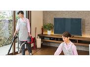 ≪30代~50代の女性スタッフが多数活躍中◎≫ 家事・お掃除スキルがしっかり活きます♪時間も選べるから家事のスキマにも!