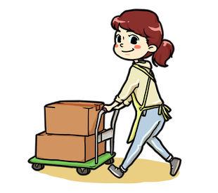 ◎ベルト・シャツなどの発送準備◎ 発送する商品を探して… 発送用の箱に詰めていくだけ♪ 簡単だから未経験大歓迎!