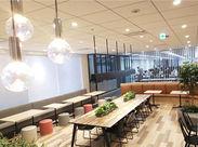 #オシャレなCafeスペース #キレイなオフィス #ホッとひと休憩も♪*。 #長く続けられる環境 #快適ワークを実現!!
