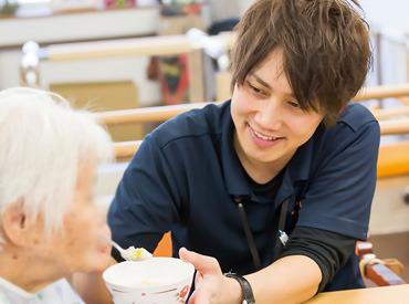 【介護スタッフ】<JASDAQ上場企業のグループ会社>会社支援で、一生モノの資格取得も♪「やってみたい」から始めませんか?◆急募◆