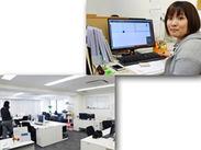 勤務地は人気エリアの≪梅田≫! 駅チカのとっても綺麗なオフィスで働けますよ★