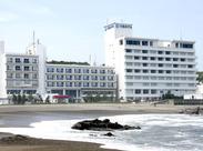 海が目の前の絶景リゾートホテル♪ 旅館や割烹料理店での経験のある方も大歓迎◎