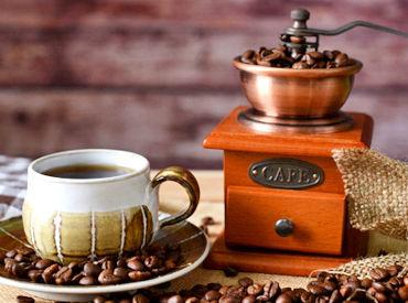 この春から新しいことに挑戦♪ コーヒーの良い香りに包まれた構内で 資格を活かしたお仕事をしませんか?