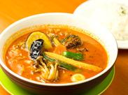 ≫最高の味、ココに!! 札幌を代表するごはん『スープカレー』がメキメキと名を上げる、そんな話題沸騰の中、昨年遂にOPEN★