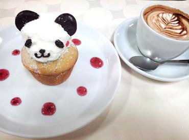 【キッチンSTAFF】≪上野駅前☆マルイ1階横!≫未経験者OK!週2~★パンダモチーフのスイーツが好評!上野の老舗CAFEでキッチンのお仕事♪