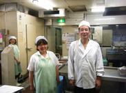 スタッフ専用の食堂でのお仕事です♪ 中高年~シニアの方も活躍中!! お客様と接することはありません◎