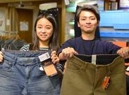学生・フリーター・未経験・主婦(夫)さん、みんな歓迎★服装は、いつものあなたのSTYLEで!お洒落も楽しみながら働けます♪