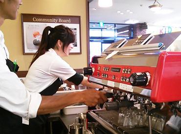【カフェStaff】★オシャレな空間、タリーズコーヒーSTAFF大募集★週2~OK◎⇒学校生活や家事と両立♪◎◎タリーズ大好きさん、必見◎◎