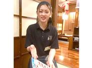 """/私たちと一緒に楽しく働きませんか~!\ 自由に働けるのが""""寿里庵""""の良いトコロ!"""