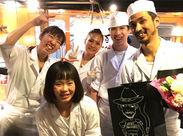 """週1日・3h~&シフト2週毎提出!働きやすさ、東京イチを目指してます☆あなたもStick=""""串""""焼きのNEW GENERATIONSに!"""
