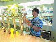 【6月~9月下旬】の期間限定♪入れる日だけOK☆オシゴト内容もシンプル◎ビール注ぎ&配膳が中心♪