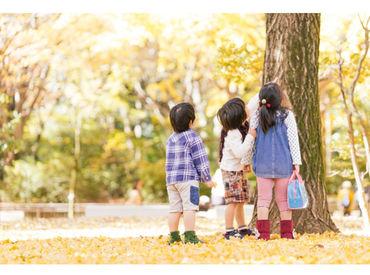 10代~60代まで幅広く活躍中!年齢や子育て経験なども不問♪ママさん保育士もいっぱいいます⇒理解のある保育園ばかり★