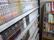 雑誌やコミック、DVDなども充実!たくさんの資料も用意していますので撮影の参考や休憩に是非利用してみてくださいね♪