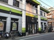 <新高島平駅を出て目の前!>自転車やバイク通勤もOKだから、とにかく通いやすい♪近くに住んでいるスタッフが多数◎