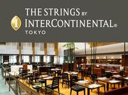 26~32階と7層を吹き抜けにしたアトリウムロビー&同フロアのレストラン「THE DINING ROOM」