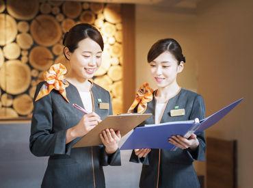 <働きやすい環境が整っています!> 長く安定して働いているスタッフばかり♪ 居心地の良さが魅力のホテルですよ!!