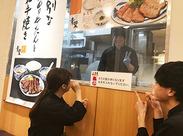 履歴書不要!即日面接も、予定が合えばさせて頂きますので、ご相談ください☆無料まかないではお店のメニューが食べれることも!