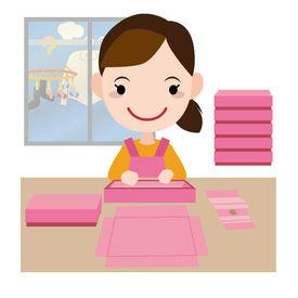 未経験OK!内職のお仕事★家なので、自分の好きなタイミングでリラックスして作業できる◎男女スタッフ活躍中!
