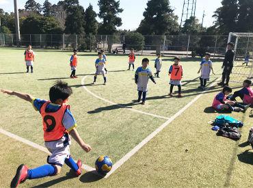 憧れの「コーチ」になれるチャンス!サッカーの経験があればOK!コーチデビューも応援します★<フットサルコートの割引あり◎>